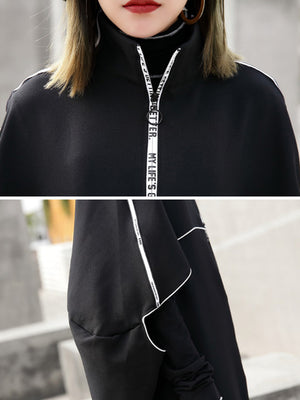 Dolores Cape Zipper