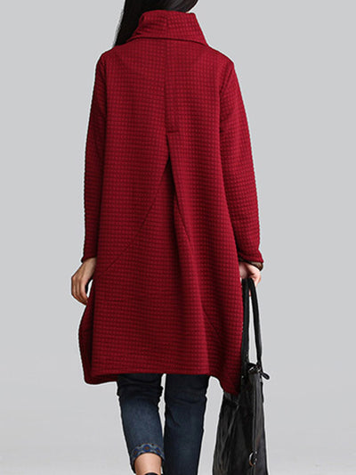 Scattered Turtleneck  Top