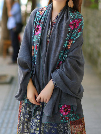 Ethnic Cotton Big Size Scarf