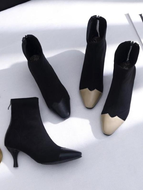 Tipping Wave Pointed Boots