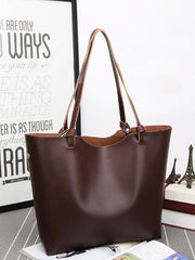 Stylish Knot Zip 2-in-1 Tote