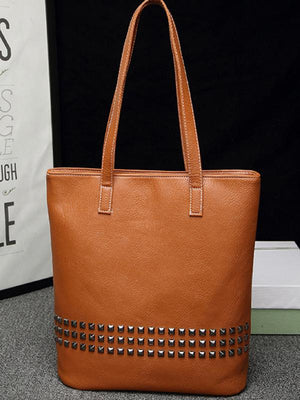 Rugged Smooth Rivert Tote