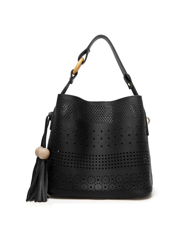 Raining Dots 2-in-1 Shoulder Bag
