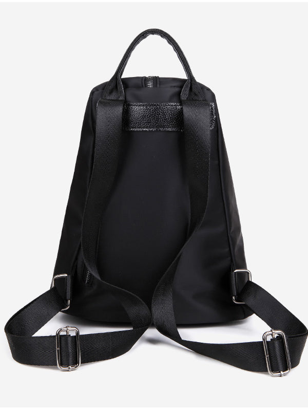 Triangle Ribbon Smock Backpack