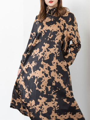 Blackspot Ink Midi Dress
