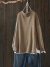 Fran Hemming Sweater Top with Modern Sketches