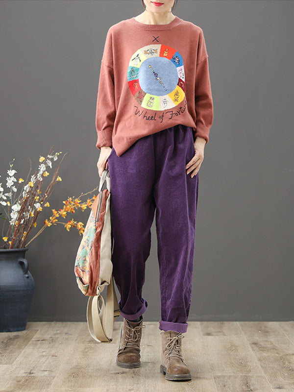 Candy Delight Vintage Harem Pants