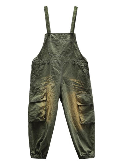 women's cotton bib overalls