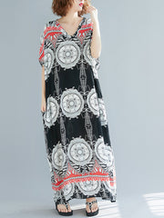Vacational Palace Kaftan Dress