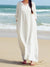 Stylish Plain H-Line Maxi Dress