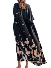 Freaking Flying Maxi Dress