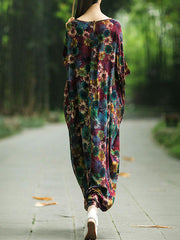 Beautiful Botanic Kaftan Dress