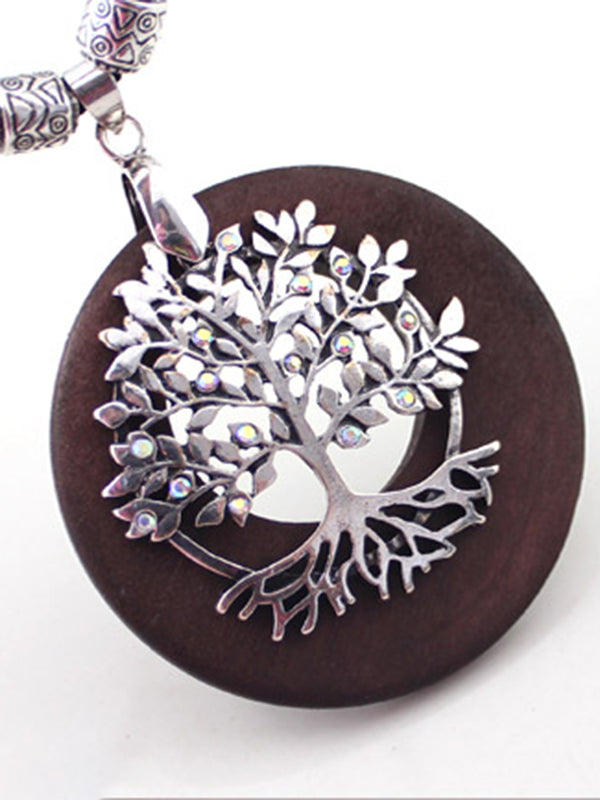 Velma Wishing Tree Pendant Necklace