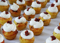 Cupcake salé ROSS (lardons,...) version grand (6p)