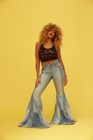 LION BABE CROP TOP