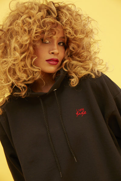 LION BABE HOODIE STITCHED LOGO