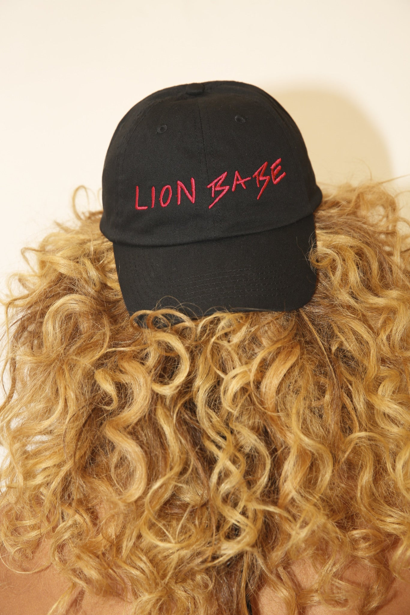 LION BABE BASEBALL HAT