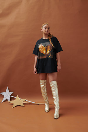 LION BABE COSMIC WIND COVER TEE