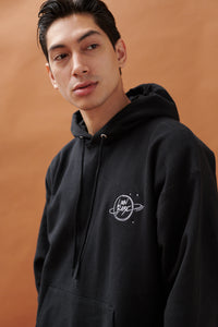 LION BABE EMBROIDERED LOGO HOODIE