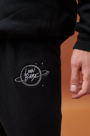 LION BABE EMBROIDERED LOGO SWEATPANTS