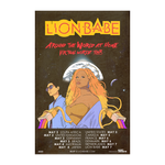 LION BABE VIRTUAL WORLD TOUR POSTER