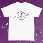 LION BABE PLANET TEE - WHITE