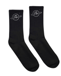 LION BABE EMBROIDERED LOGO SOCKS