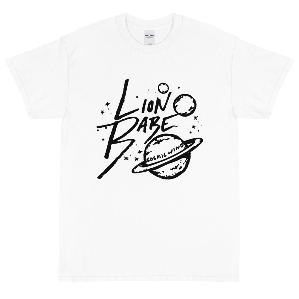 LION BABE COSMIC WIND TEE - WHITE