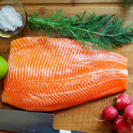 Hudson Valley Steelhead (+/- 1 lb)