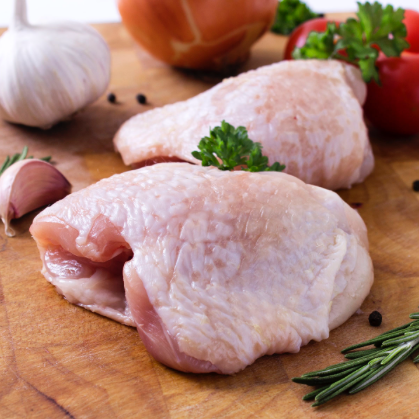 Fresh Bone-In Chicken Thighs ( 2 lb)
