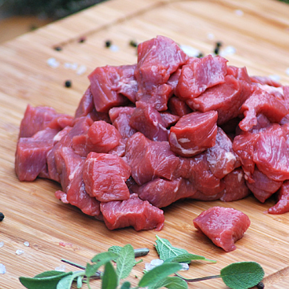 Fresh Lamb Cubes (1 lb)