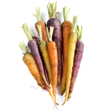 Rainbow Carrots ( Bunch)