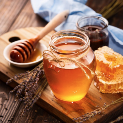 Raw Local Honey (Glass Jar)