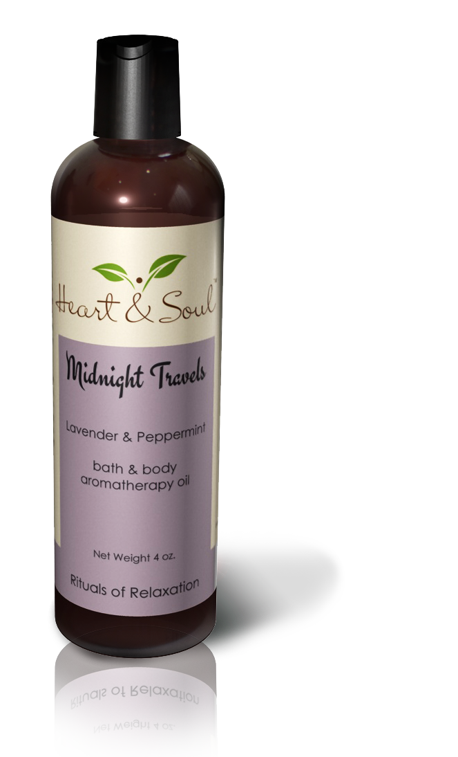 Body Oil Midnight Travels