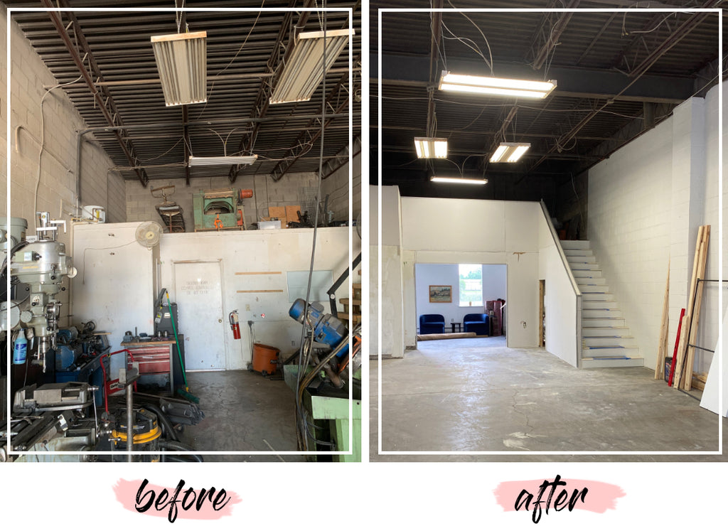 Studio Swoon Before + After