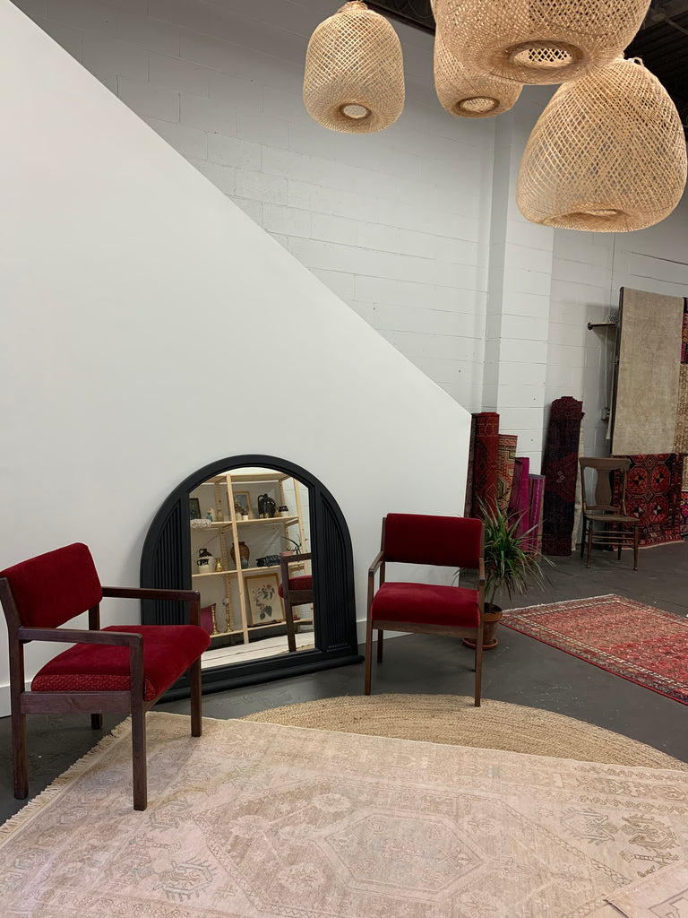 Refinished chairs and mirror