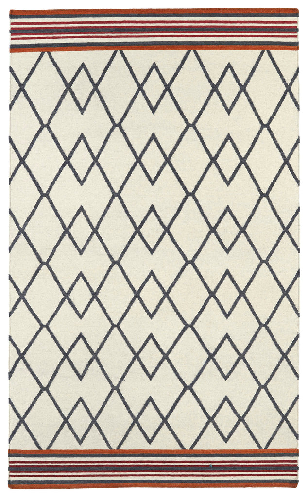 Little Mountains Dhurrie Rug