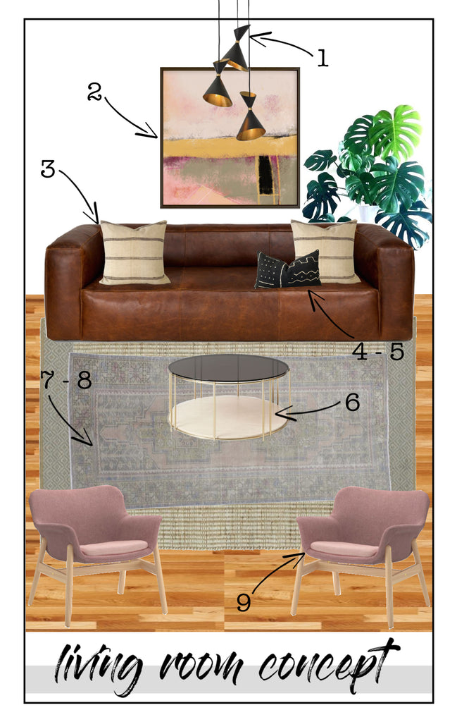 Mund Living Room Concept