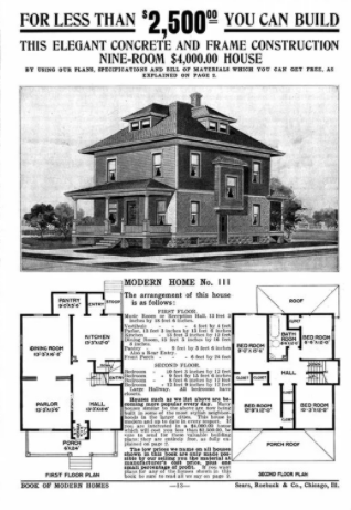 American Four Square Home