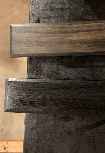 Stain Wiped off wood