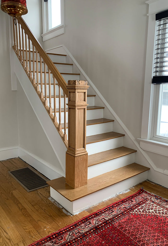 Staircase refinished