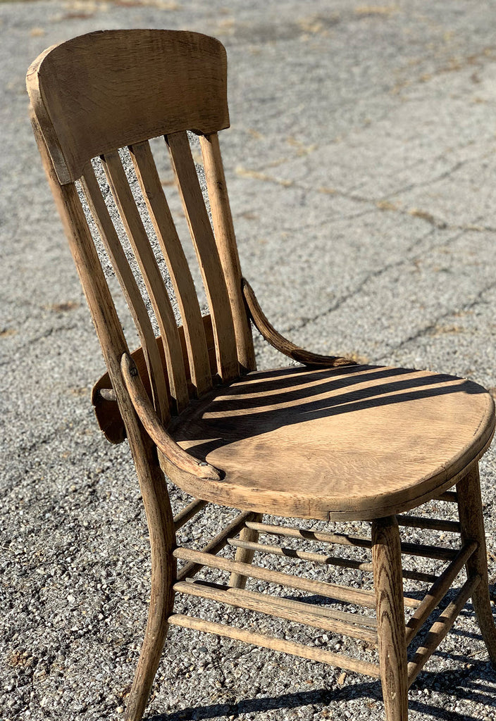 Unfinished Wood Chair