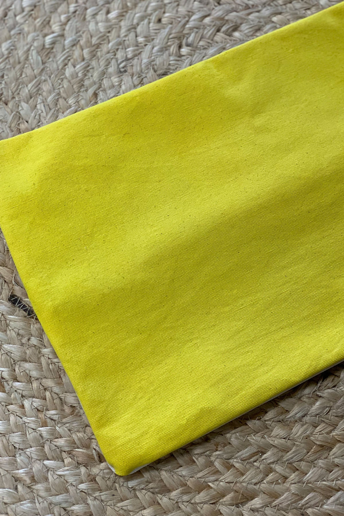 Organic hand dyed pillow covers - gold