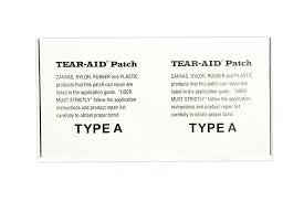 Tear-Aid Type A Repair | 3 x 6 Inches Patch - Singapore