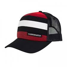 Cabrinha Snapback Trucker Lines Black-Red Cap - Singapore