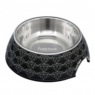Black Diamond Melamine Bowl