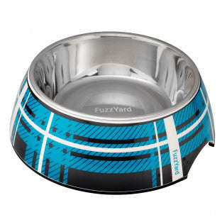Fuzzyard Easy Feeder Bowl - Blue Fling