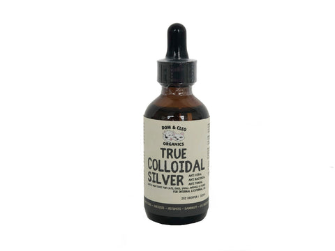 Dom & Cleo True Colloidal Silver Dropper