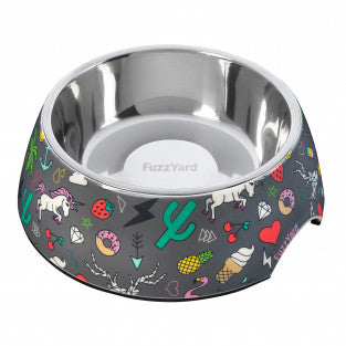 Fuzzyard Easy Feeder Bowl - Coachella