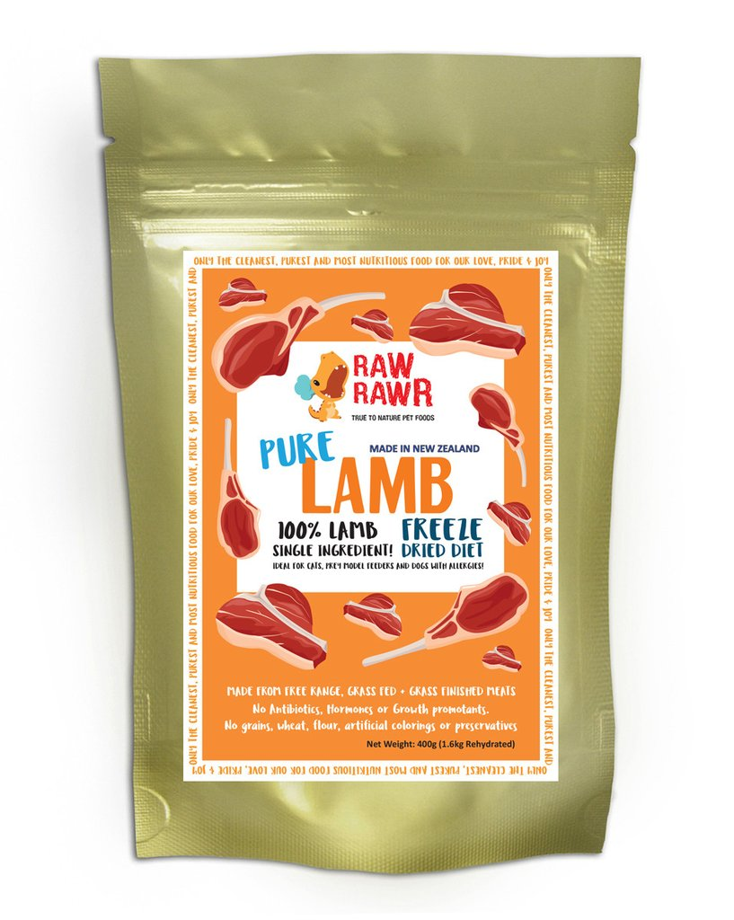 Raw Rawr Freeze Dried Pure Lamb